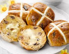 Irish hot cross buns recipe for Easter