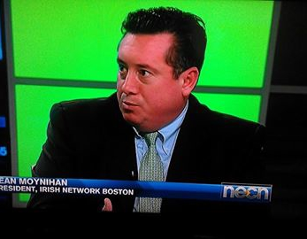 INB President Sean Moynihan discusses the Boston, Ireland Business Connection on NECN