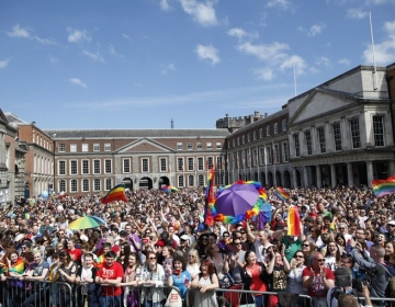 Ireland makes headlines around the world with landmark 'Yes' result in marriage equality referendum