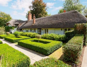 Beautiful thatched home of 'Famous Five' author Enid Blyton goes on sale for $2.8m
